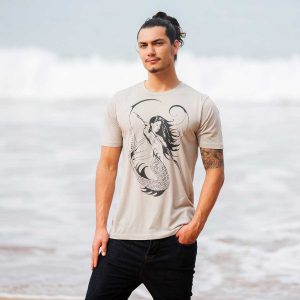 Permission Deep Sea Huntress warm gray unisex